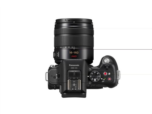 Best Price Panasonic Lumix DMC-G5HEB-K Compact System Camera with 14-140mm Lens – Black (16.5MP) LCD