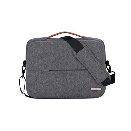 Laptop-Umhängetasche Business Office-Tasche, Laptop-Tasche for Frauen, Schlanke, Leichte Business-Aktentasche, Tragetasche for Tragbaren Computer Mit Griff (Color : D, Size : 15.6inch) -