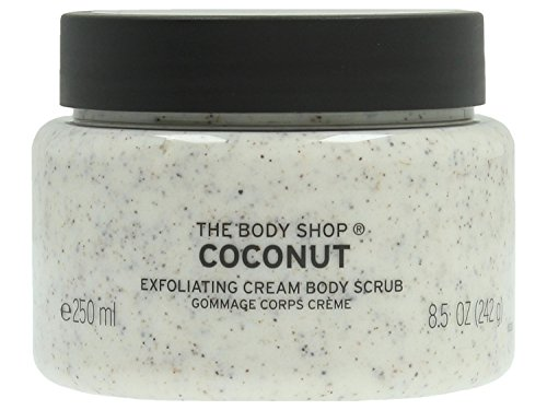 The Body Shop Body Scrub Coconut, 1er Pack (1 x 250 ml)