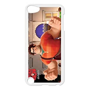 Custom Cartoon Wreck it Ralph Ipod touch 5th Case Cover-Best Protective Hard Plastic Cover