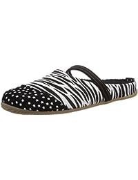 Living Kitzbühel Pantoffel Zebra, Pantoufles non doublées femme