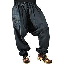 pantalones cagados virblatt con patrón reversible con entrepierna mediana profunda talla única Unisex S - L pantalones bombachos de invierno con cremallera - Unüberlegt extra warm