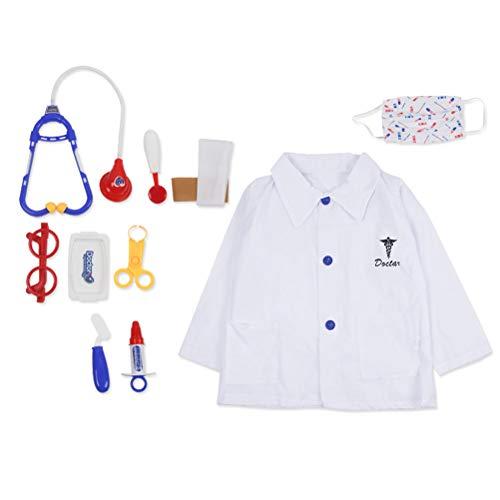 Kostüm Aviator Kit - Amosfun Kinder Arzt Kostüm Sets Arzt Cosplay Kleidung für Party Stage Performance (freie Größe) zufällige Farbe