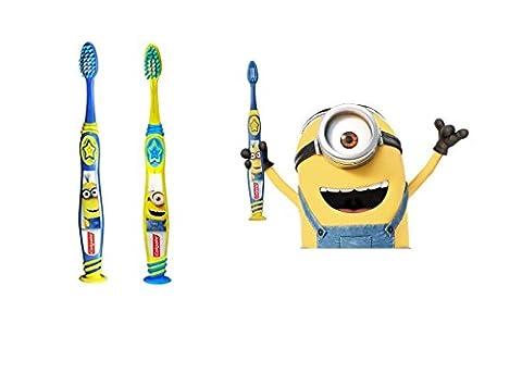 Colgate Minions 5-9 Years Ultra Soft Slim Tip Toothbrush 1pc