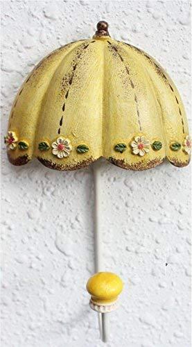kjjk Etagère/Robe Crochet de manteau mural American Vintage Umbrella/Crochet derrière la porte/Décoration/Magasin de vêtements Boutiques de vêtements pour enfants/Patères, 3,1