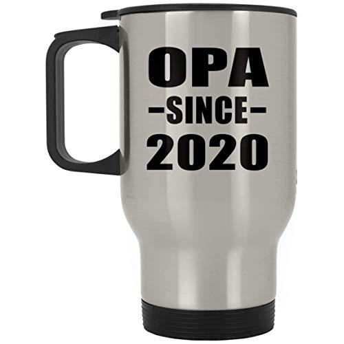 Designsify Opa Since 2020 - Silver Travel Mug Reisetasse Edelstahl Isolierter Tumbler Becher - Geschenk zum Geburtstag Jahrestag Muttertag Vatertag Ostern Opa Womens Cap