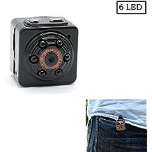 Mini cámara espía oculta, PANNOVO Deportes de mini cámara de vídeo DV HD 1080P 12.0 mp Dash DVR cámara Detección de Movimiento con infrarrojos de visión nocturna, cámara de PC, red Cámara