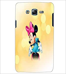 PrintDhaba Minnie Mouse D-4447 Back Case Cover for SAMSUNG GALAXY J7 (Multi-Coloured)