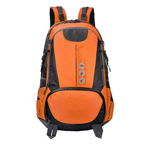 Zaino Tattico Di Attacco 40L Zaino All'aperto Di Xin.S Bug Out Zaino Militare Guida Borse Per Studenti Zaino Multifunzionale. Multicolore Orange