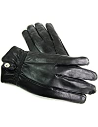 Ladies Womens New Premium Super Soft Genuine Leather Gloves Fleece Lined Winter Warm Driving