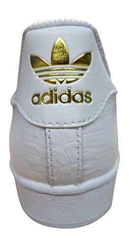 adidas originali superstar scarpe da ginnastica da uomo S31641 scarpe da tennis Bianco/Oro