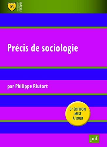 Précis de sociologie por Philippe Riutort