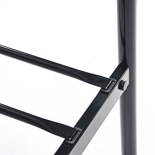 3FT6 Metal Bed Frame Single Bed Designer Kids Teens Adults' Bedroom(bed frame only)(Black)