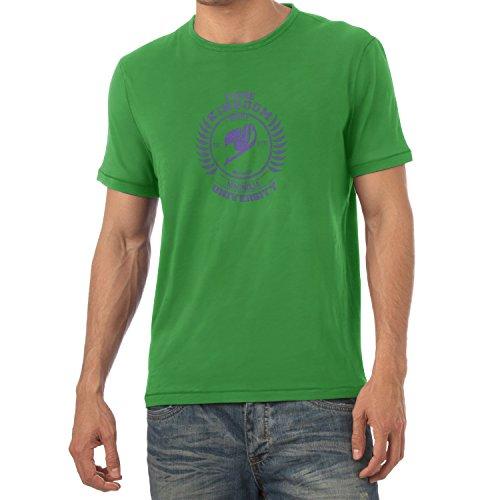 TEXLAB - Fiore Kingdom - Herren T-Shirt, Größe L, grün