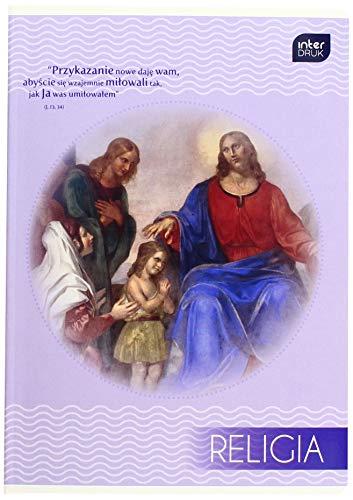 Interdruk ZE32KF#R - Libro de Ejercicios (A5, 32#UV, Estudios religiosos, luz Azul)