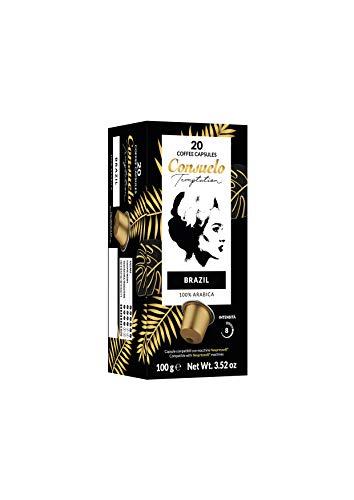 Consuelo, mit Nespresso* kompatible Kapseln - Brazil, 100 Kapseln (20x5)