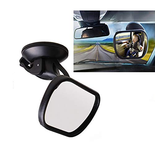 Spiegel Spiegel mirror Kindersitz view und Hinterradantrieb