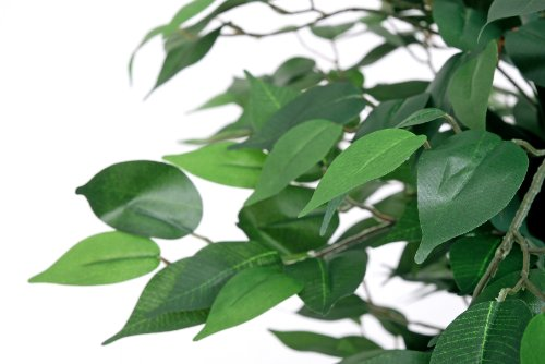Ficus grün 1,20 m Kunstpflanze Kunstbaum