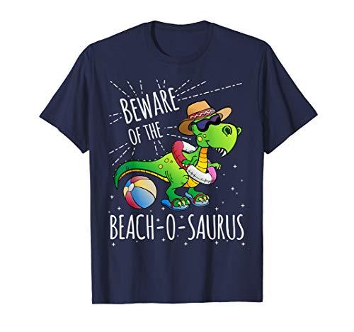 T-Rex Strand T-Shirt für den Urlaub ()