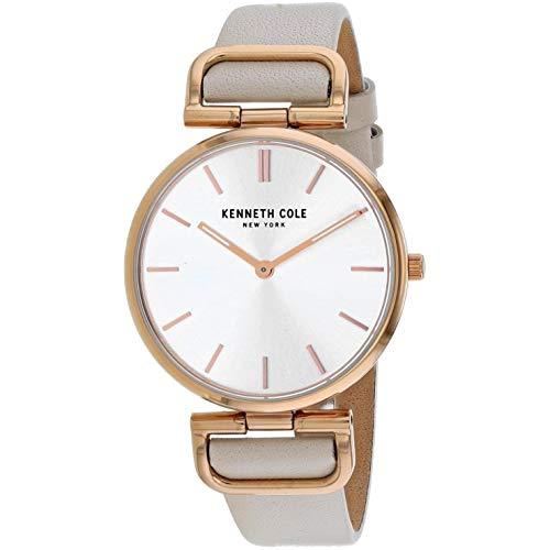 Kenneth Cole Classic Reloj de Mujer Cuarzo 36mm Correa de Cuero KC50509001