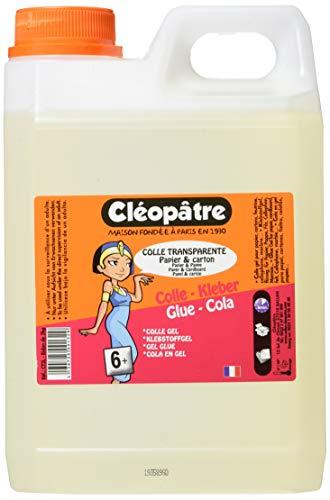 Cléopâtre - CT2L - Starker Transparentkleber COLLE TRANSPARENTE, 2 kg-Kanister