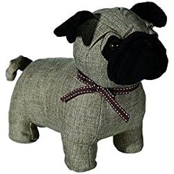 Tope para puerta, diseño de perro carlino pug