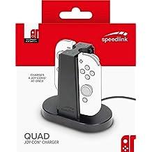 Speedlink USB Ladegerät für Nintendo Switch - FUZE USB Power Supply Netzteil schwarz (Generalüberholt)
