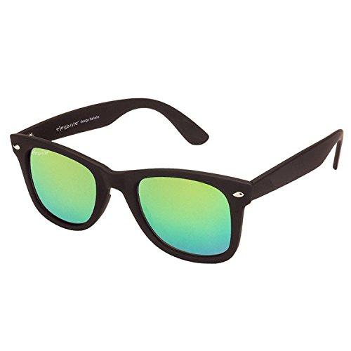 Elegante Wayfarer Unisex Sunglasses(Wyfblkgrnmer|59|Green)