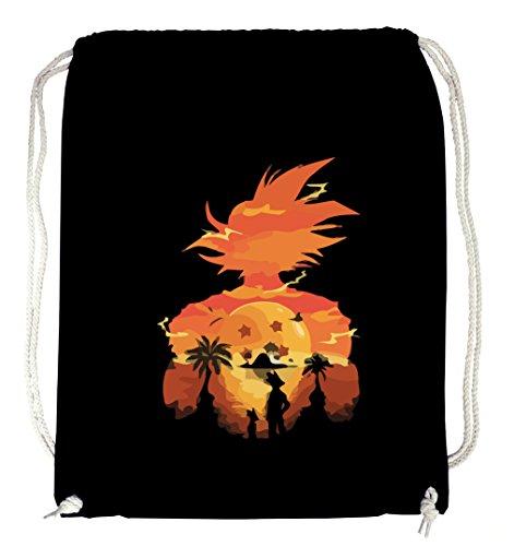 Certified Freak Sunset Goku Gymsack Black