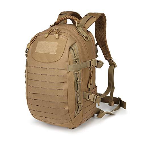 Luggaents Militärische Taktische Dragon Egg Rucksack 25L System Mehrzweck 15 Zoll Laptop Rucksack Angeln Camping Bag TAN (Dragon Bag Egg)