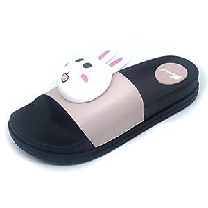Brauch Women's Pink Bunny Sliders
