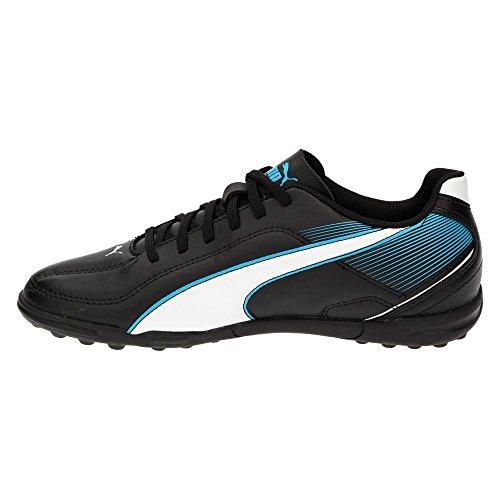 Puma jr esquadra tT chaussure football de loisir noir Noir - Black-White-Scuba Blue