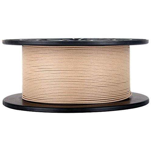Bobina de filamento para impresora 3D efecto madera–1,75mm de diámetro, 1kg