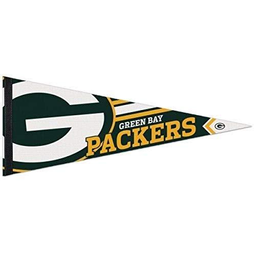 WinCraft Green Bay Packers Big Logo Premium Football NFL Wimpel