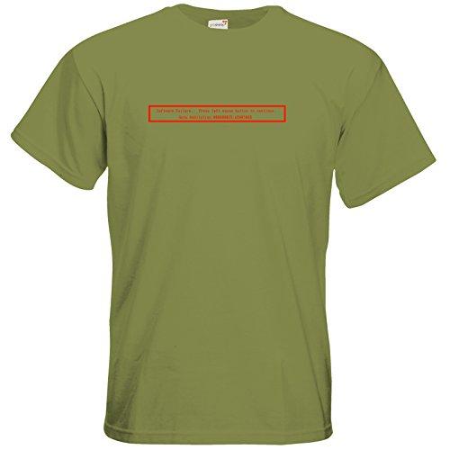 getshirts-best-of-t-shirt-retro-gaming-amiga-guru-meditation-green-moss-xxl