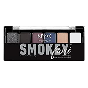 NYX Cosmetics The Smokey Fume Shadow Palette, 0.21 Ounce
