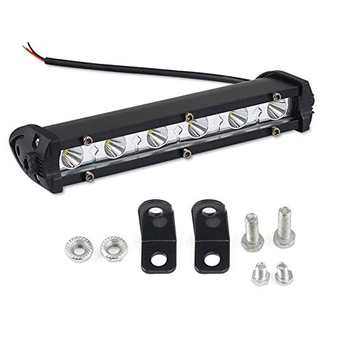 Auto-LED-Arbeitslicht 18W 6Led Streifenlicht Off-Road Lichttechnik Licht Modifizierte Lampe 2 Packs,Floodlight