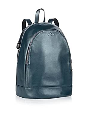 Kipling Womens Yaretzi Kp Backpack Handbag Metallic Denim