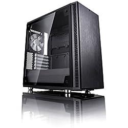 Fractal design Define mini C vetro temperato mATX/ITX PC computer case–nero
