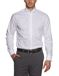 Schwarze Rose Herren Slim Fit Business Hemd GEORGE