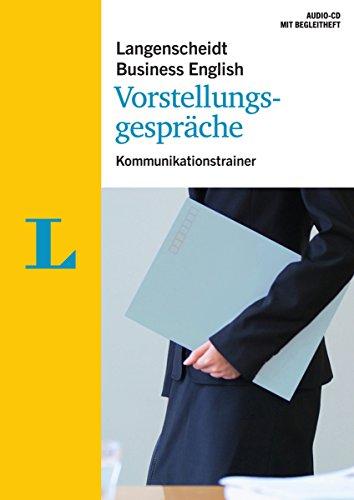 Langenscheidt Business English Vorstellungsgespräche - Audio-CD mit Begleitheft:...