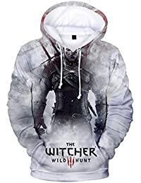 ZIGJOY Witcher Gaming Casual 3D Gedruckt Lustige Sweatshirt Fashion Hoodie 368d91158a