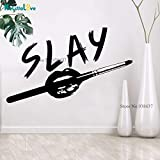 57 * 35cm Creative Cool Design Make Up Lovers Beauty Salon Grooming Decal Girl s Room Tables Dekoration