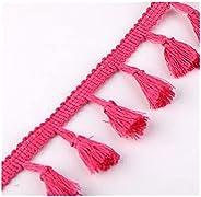NXNSP. Lace Tassel Fringe Polyester Cotton Ethnic Trim Ribbon Sewing Latin Dress Stage Garment Curtain Decorat