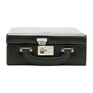 Windrose Ambiance Schmuckkoffer Safekoffer groß mit Einsatz Schwarz