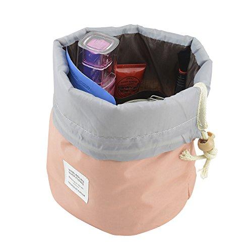 ranccor-travel-kit-organizer-bathroom-storage-cosmetic-bag-portable-drawstring-toiletry-compartment-