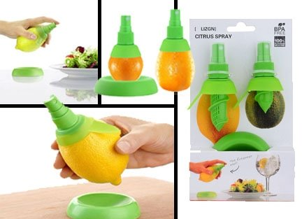 Citrus Spray Lemon Juice Sprayer Hand Juicer Mini Squeezer Kitchen...