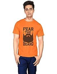 Fear The Beard Orange Boys Tshirt