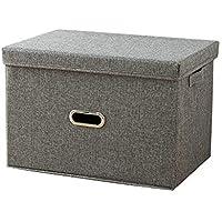 Preisvergleich für Nlj-YMS Stoff Falten Kleidung Aufbewahrungsbox Kleidung Aufbewahrungsbox Grau