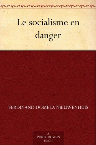 Couverture du livre Le socialisme en danger